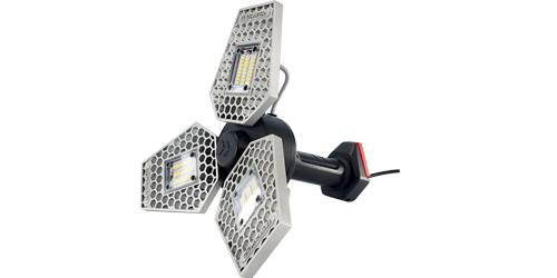 STKR Concepts | TRiLIGHT ShopLight - 3000 Lumen All-in-One Work Light/Shop Light | Striker