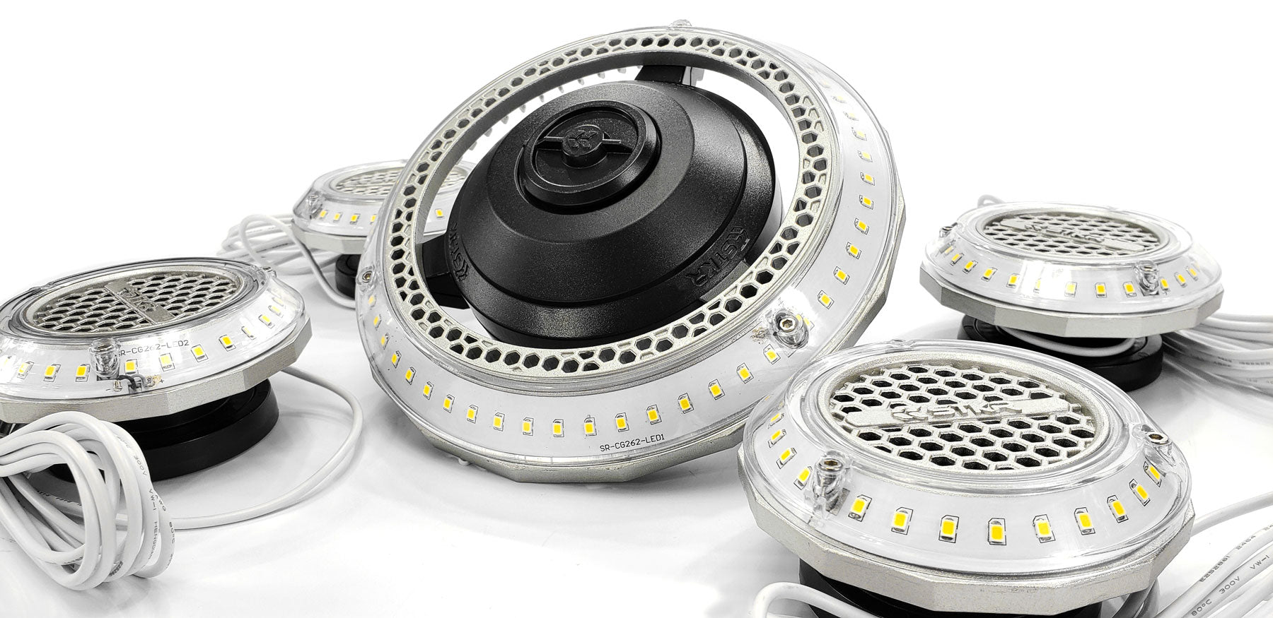MPi - Multi-Point Illumination Motion Sensor Garage Light System | STKR Concepts