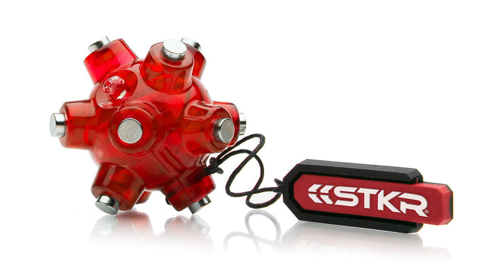 STKR Concepts Magnetic Light Mine - Hands-Free Magnetic Keychain LED Flashlight - Striker