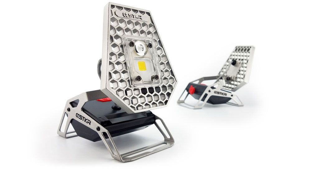 STKR Concepts Mobile Task Light - Portable Work Light - Striker