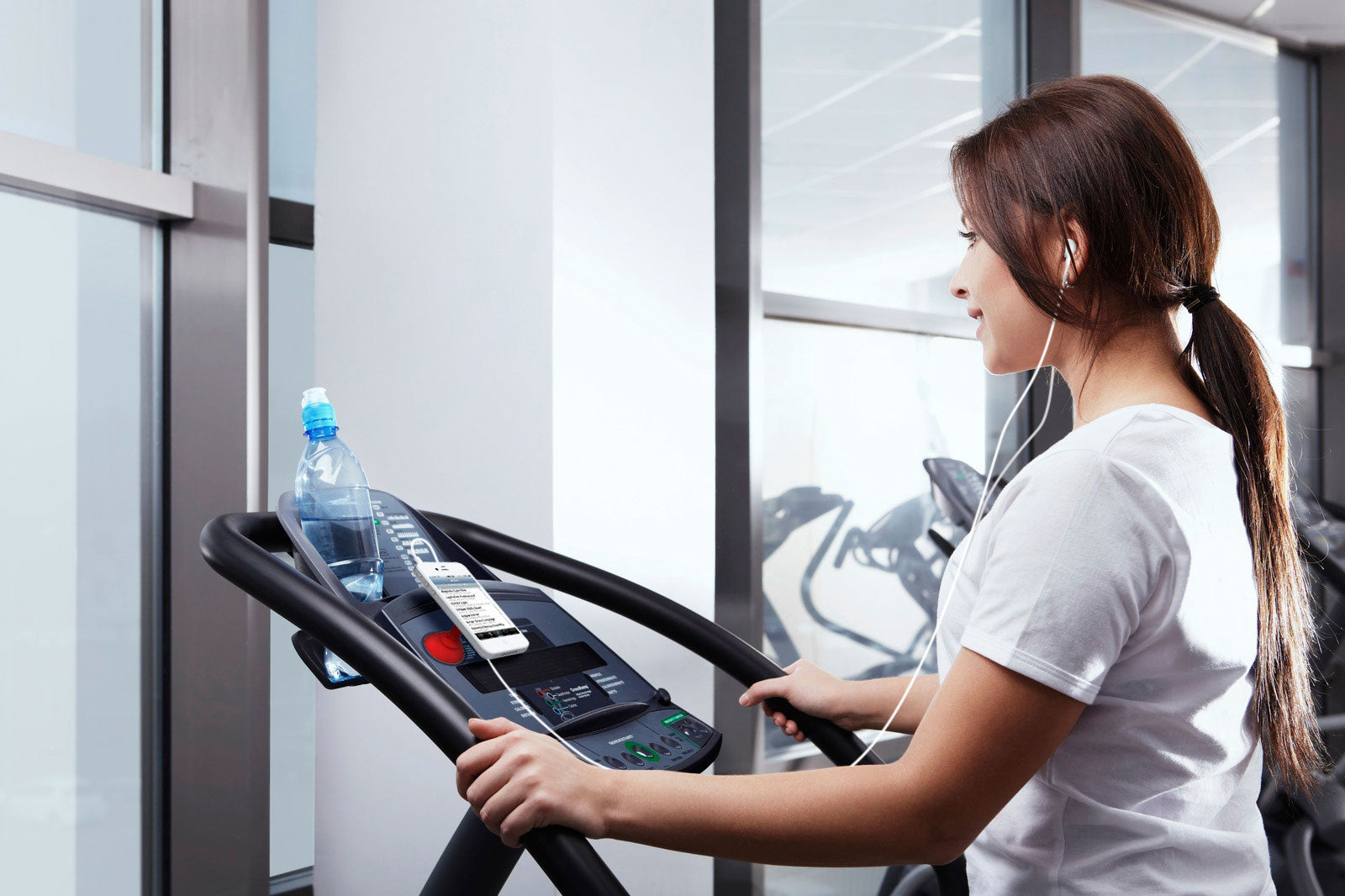 Use the Simple Sucker on the Treadmill