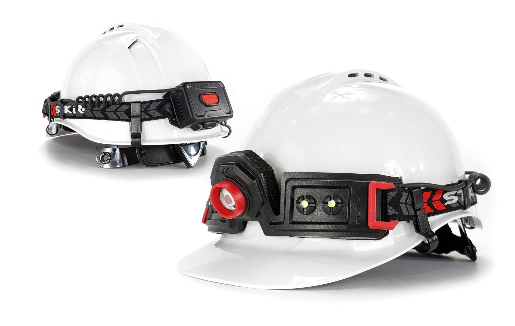 STKR Concepts FLEXIT Headlamp 2.5 hard hat compatible - striker