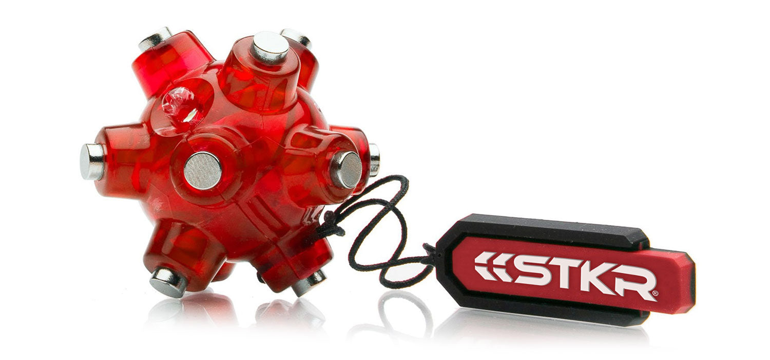 The STKR Concepts Magnetic Light Mine - Magnetic Mini Flashlight - striker