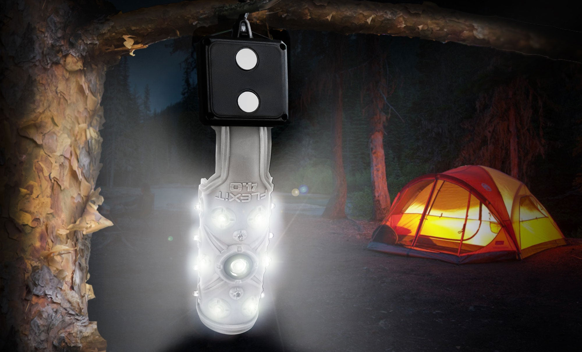 STKR Concepts - FLEXIT 4.0 Flexible Flashlight used for Camping