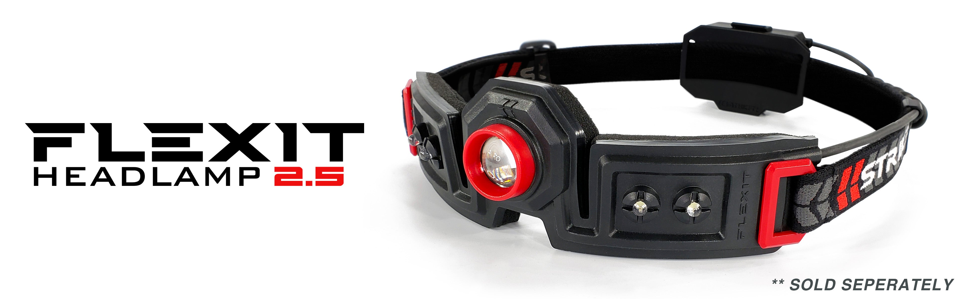 Striker FLEXIT Headlamp 2.5 - 180 degree halo lighting