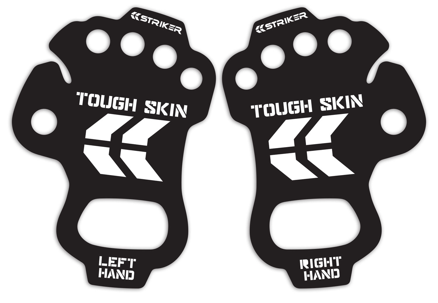 Striker Tough Skin pair included in packaging