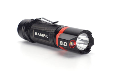 B.A.M.F.F. 8.0 - 800 Lumen Dual LED Flashlight | STKR Concepts - striker flashlight