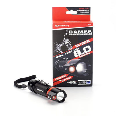 B.A.M.F.F. 8.0 - 800 Lumen Dual LED Flashlight