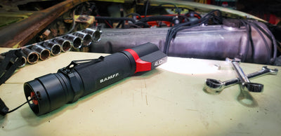 B.A.M.F.F. 4.0XL - 400 Lumen Dual LED Flashlight