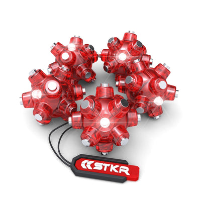 5 pack of Magnetic Light Mines by STKR Concepts