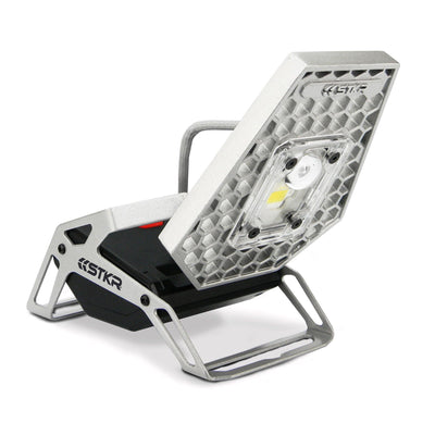 Hands-free rechargeable position-able aluminum light head - Mobile Task Light | STKR Concepts - striker