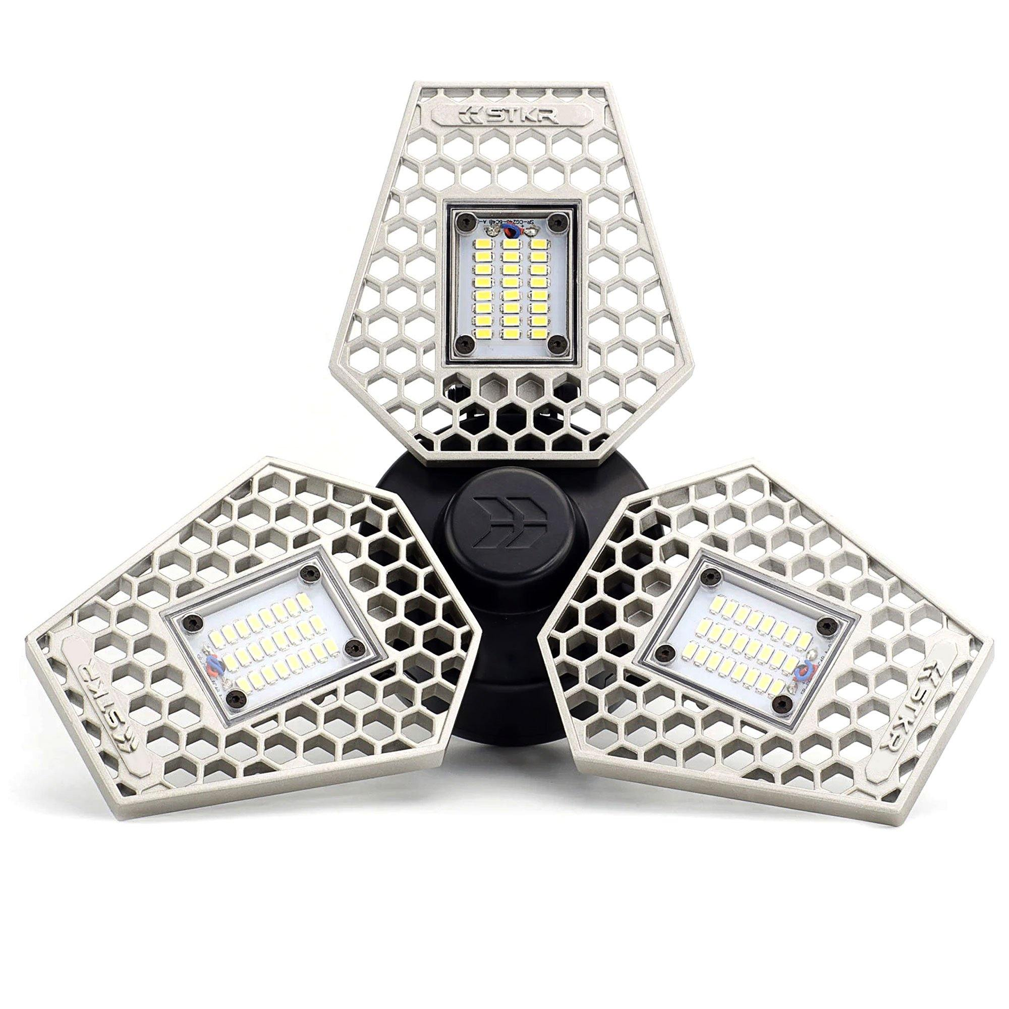 TRiLIGHT motion activated garage light bulb with 3000 TrueLumens | STKR Concepts - striker