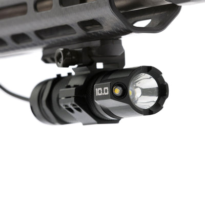 B.A.M.F.F. 10.0 | 1000 lumen, Dual LED, Tactical Flashlight with Picatinny Mount