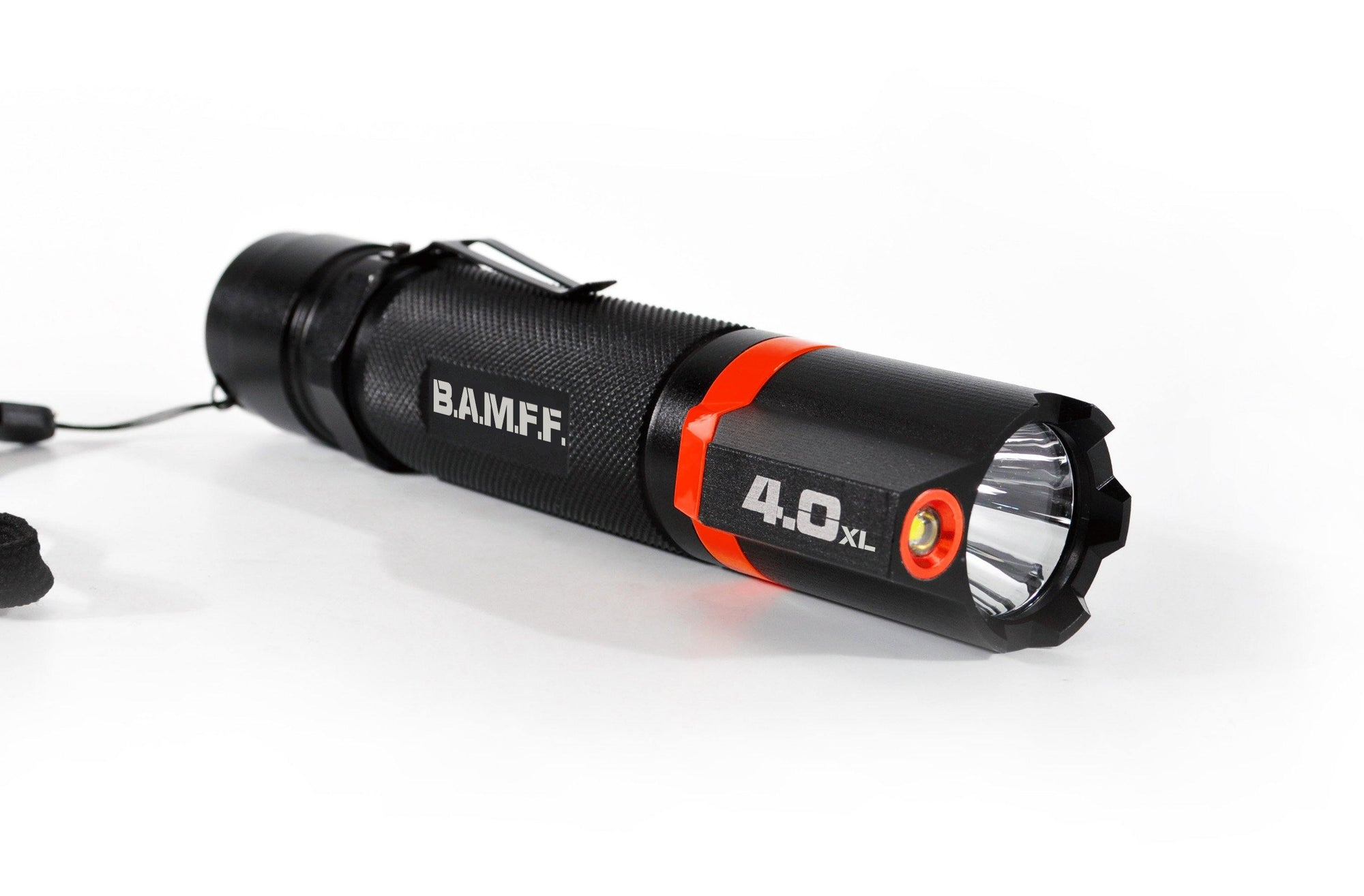 BAMFF 4.0XL dual LED flashlight long distance and area lighting in one | STKR Concepts - striker flashlight