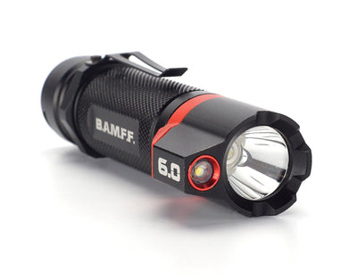 BAMFF 6.0 dual LED flashlight long distance and area lighting in one | STKR Concepts - striker flashlight