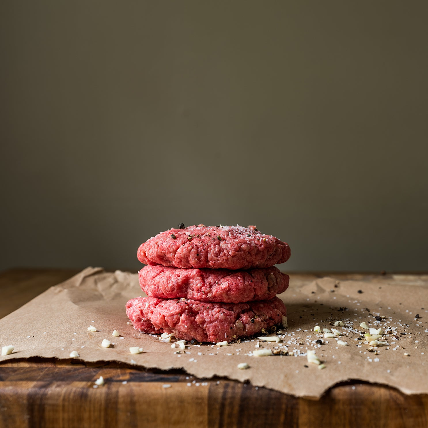 Shipley Farm 1/3 lb Hamburger Patties - 6 Per Package