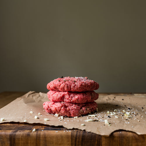 1/3 lb Hamburger Patties - 6 Per Package