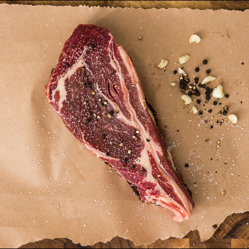 Huston Ribeye Steak from Shipley Farms Steak Sampler Package