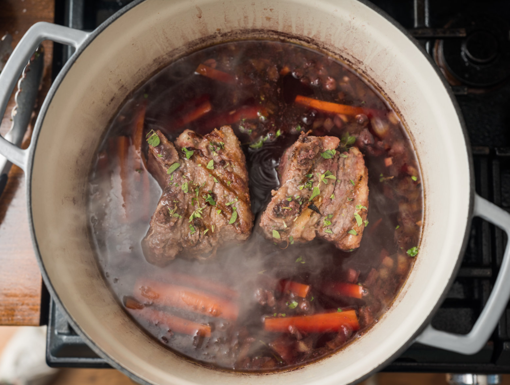 Braised Short Ribs for optimal flavor
