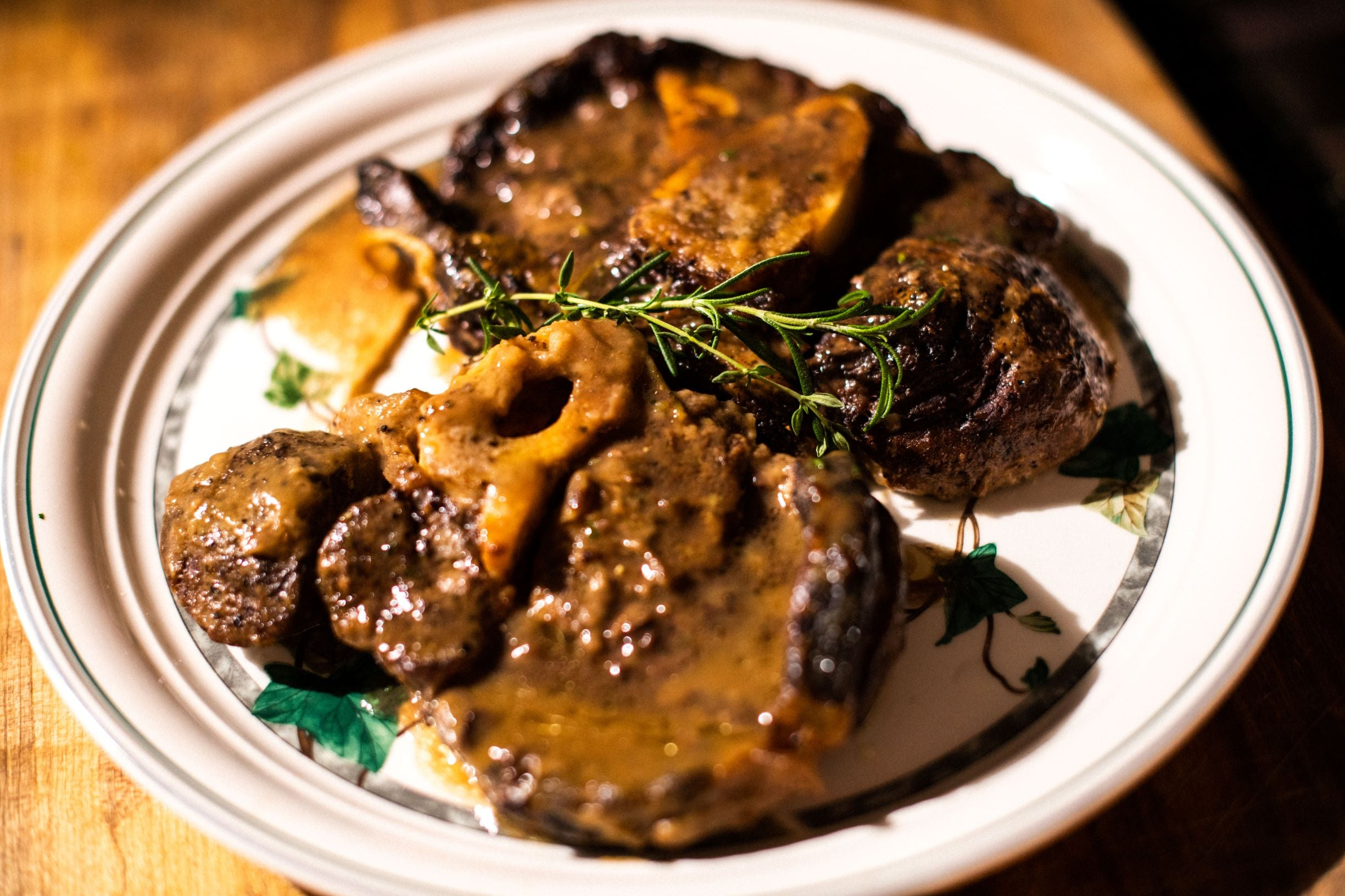Dry Aged Beef Shank/Osso Bucco