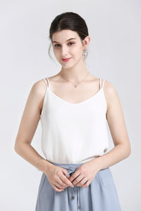 White Camisole Top