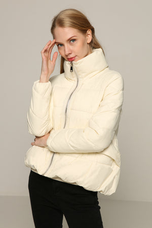 High Collar Puffer Coat
