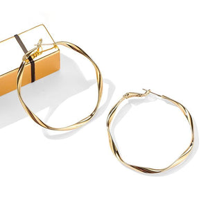 Veronica Hoop Earrings