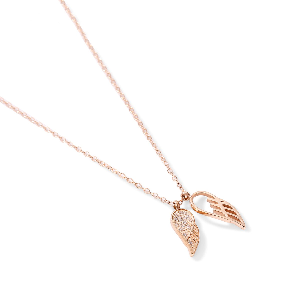 Angela Wing Pendant Necklace