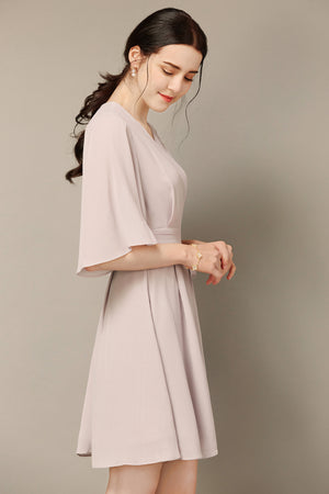 Pale Blush Flowy Dress