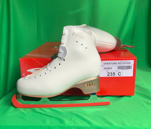 SALE! EDEA ICE SKATE SET UP DEAL [OVERTURE BOOTS & ROTATION BLADES]_ Size 235_ Last pair