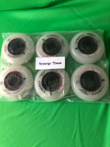 Outdoor Wheels for Snow White Frames _ Synergy  72 mm