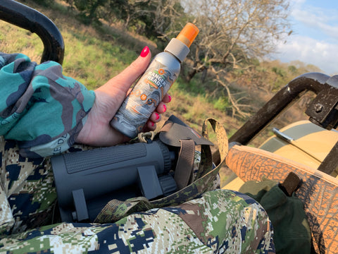 ranger ready scent zero - unscented bug spray for hunting