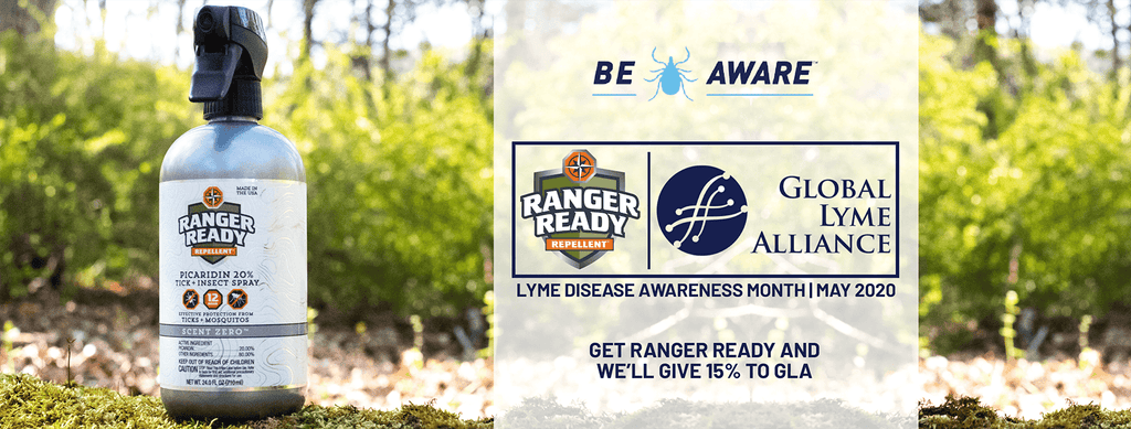 The Tick Spray, Ranger Ready Repellents, and Global Lyme Alliance bring the  Be Tick AWARE program back for May 2020's Lyme Disease Awareness Month