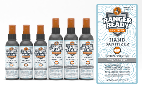 Ranger Ready Hand Sanitizer Spray