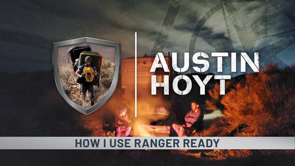 blog-banner-Two-People-Camping-in-Desert-Sitting-Around-Fire-Pit-Why-I-Use-Ranger-Ready-Repellents