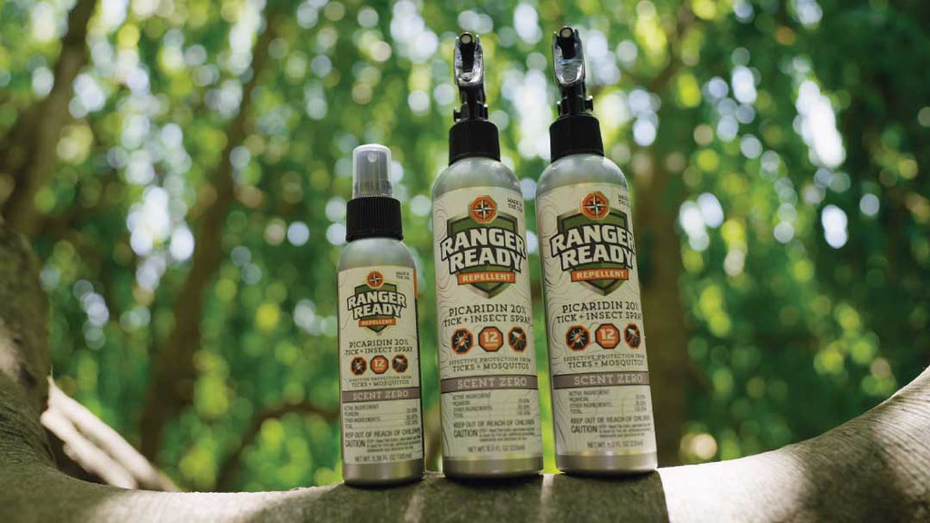 insect repellent outside in the summer time