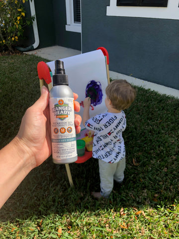 Homeschooling During the Corona Virus with Ranger Ready Insect Repellent
