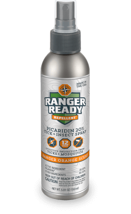 Ranger Ready Picaridin Insect Repellent - Ranger Orange Scent