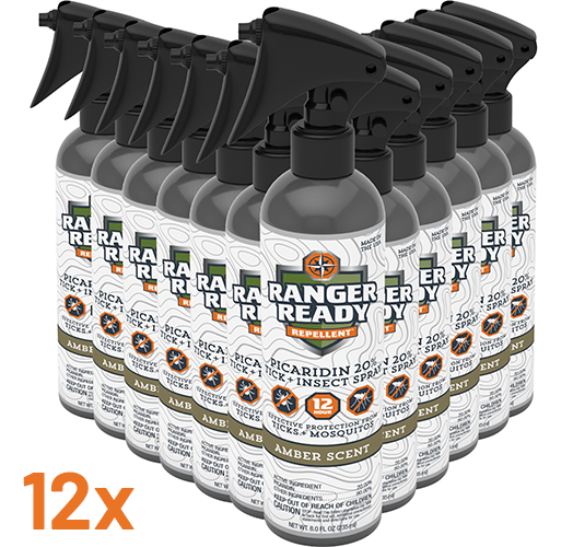 Amber Scent | Camp Pack | 235ml, 8oz | Insect Repellent