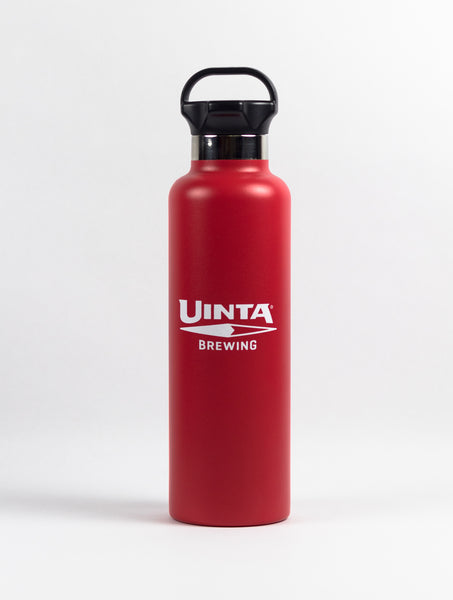 25 OZ Stainless Steel Water Bottle - H2GO Ascent - Red