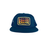 Navy Trucker Uinta (Stacked) Meshback Hat