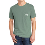 Comfort Colors Adult Heavyweight RS Pocket Tee 'Plateau'