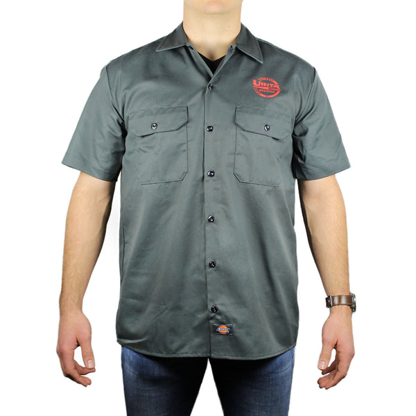 Dickies Men's 5.25 oz. Short-Sleeve Work Shirt 'Uinta logo'