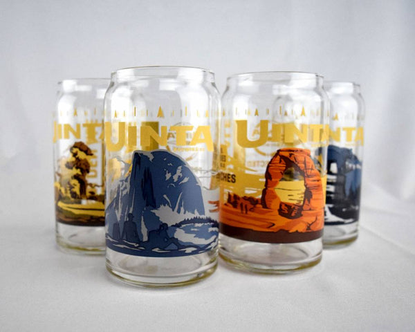 16 OZ Park Series Collector Can-Glasses