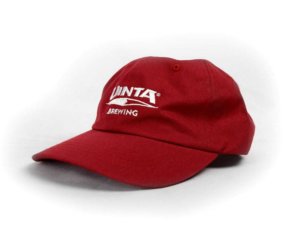 "Red Unstructured ""Dad's"" Hat"