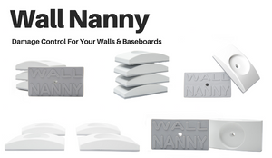 Wall Nanny for Baby Gates