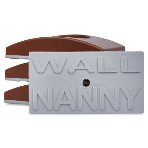 Wall Nanny Brown Baby Gate