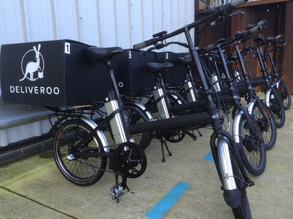 White Bear eBikes and Deliveroo