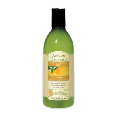 Organic Lemon Bath Gel