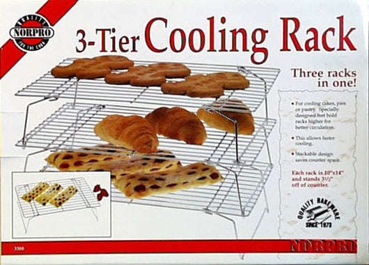 3-Tier Stacking Cooling Rack